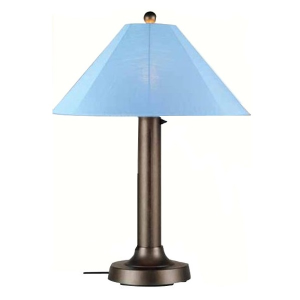 Patio Living Concepts Catalina Outdoor Table Lamp With Sky