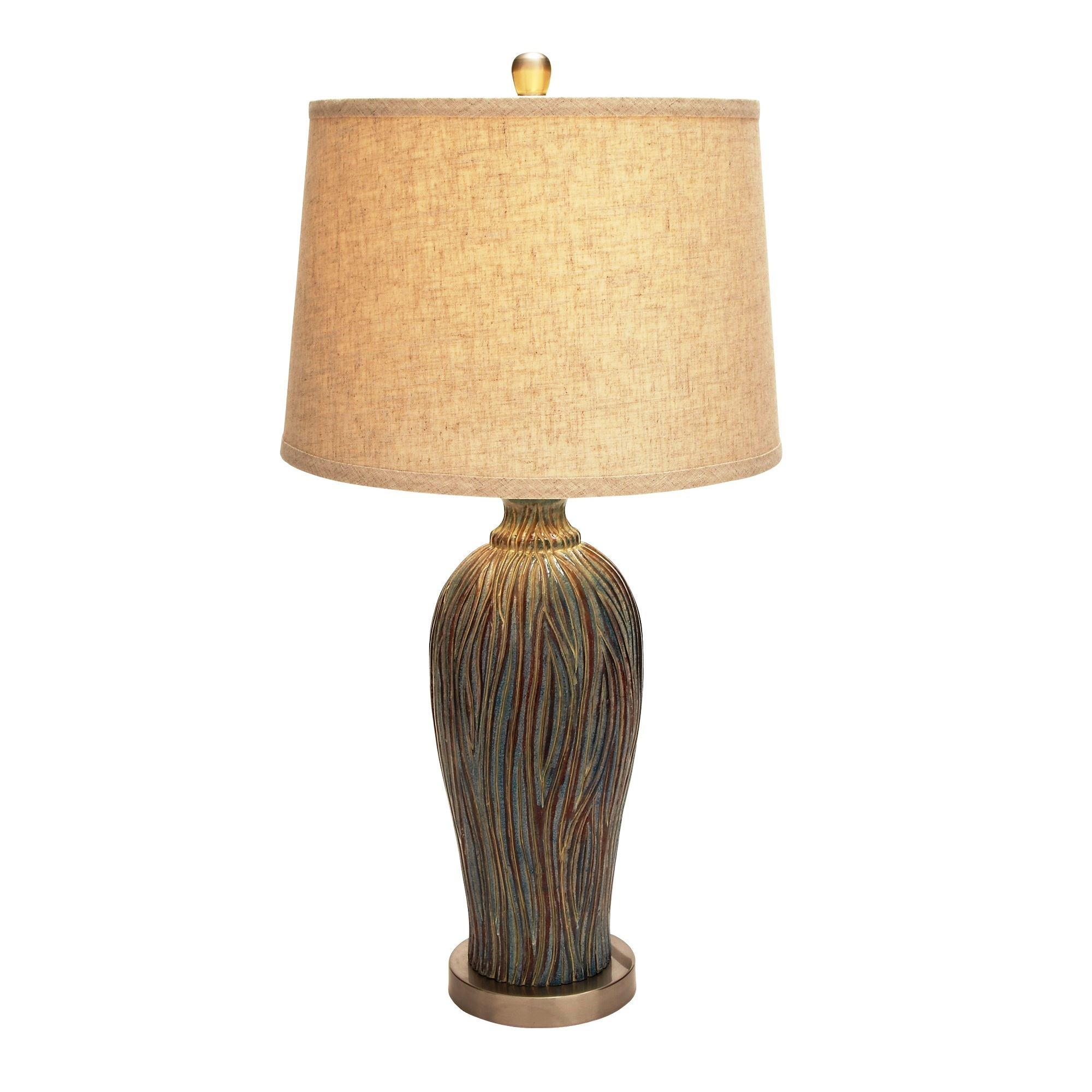 woodland imports beautiful ceramic table lamp l brilliant
