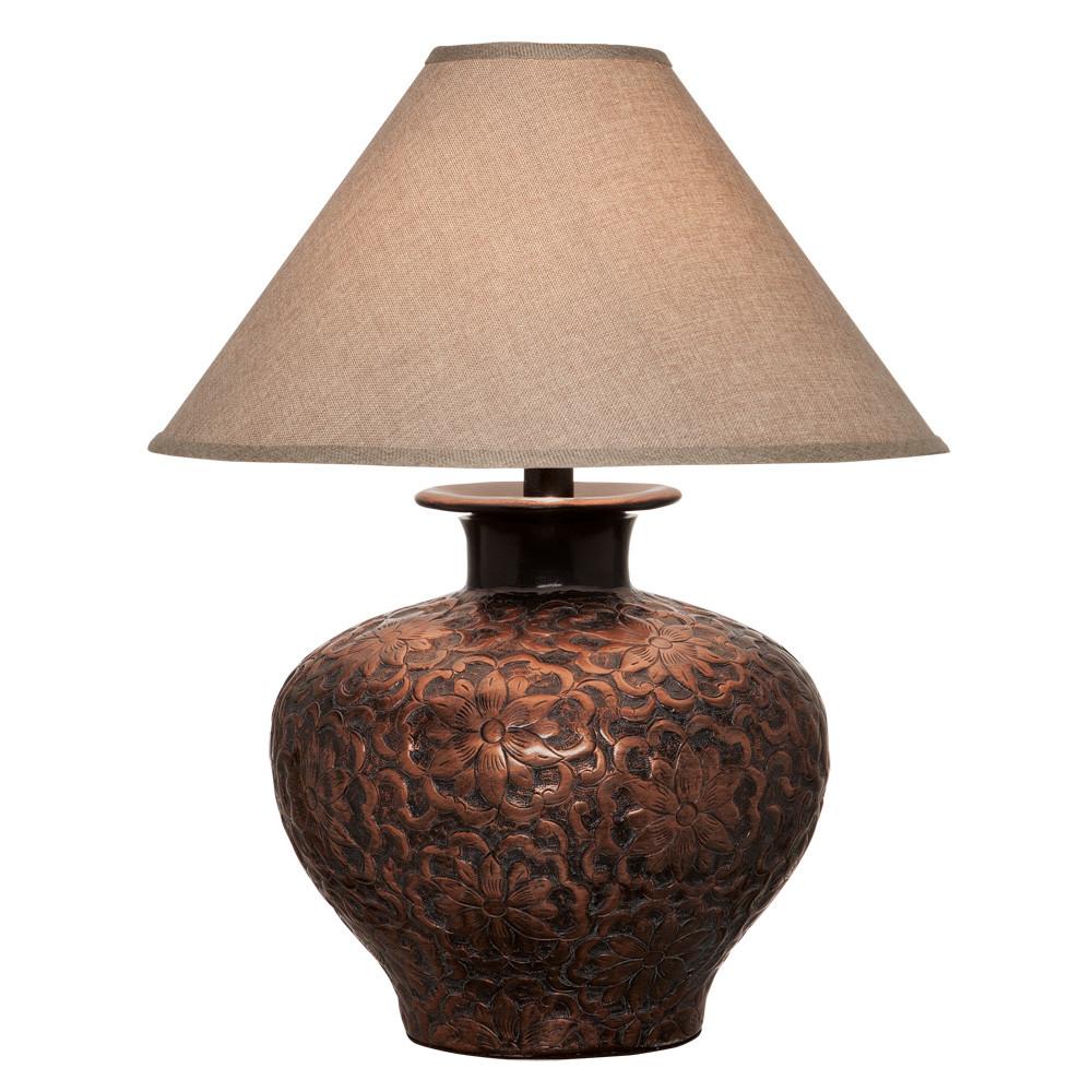 Anthony California H6621c Table Lamp In Copper L Brilliant
