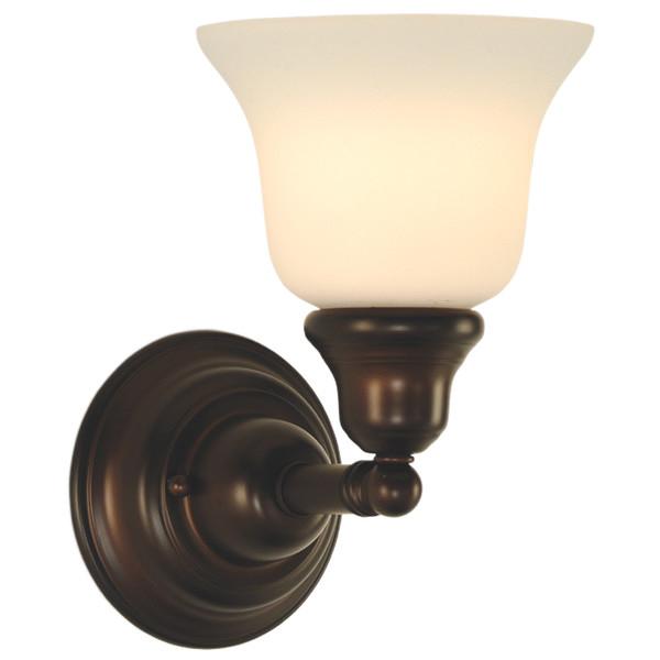 Wall Lamps Vanity : Dolan Designs Brockport Bathroom Vanity Wall Sconce l Brilliant Source Lighting