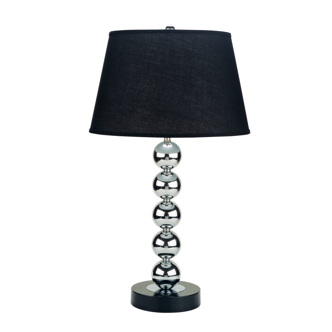 Ore metal modern table lamp with empire shade l brilliant for Modern contemporary table lamps