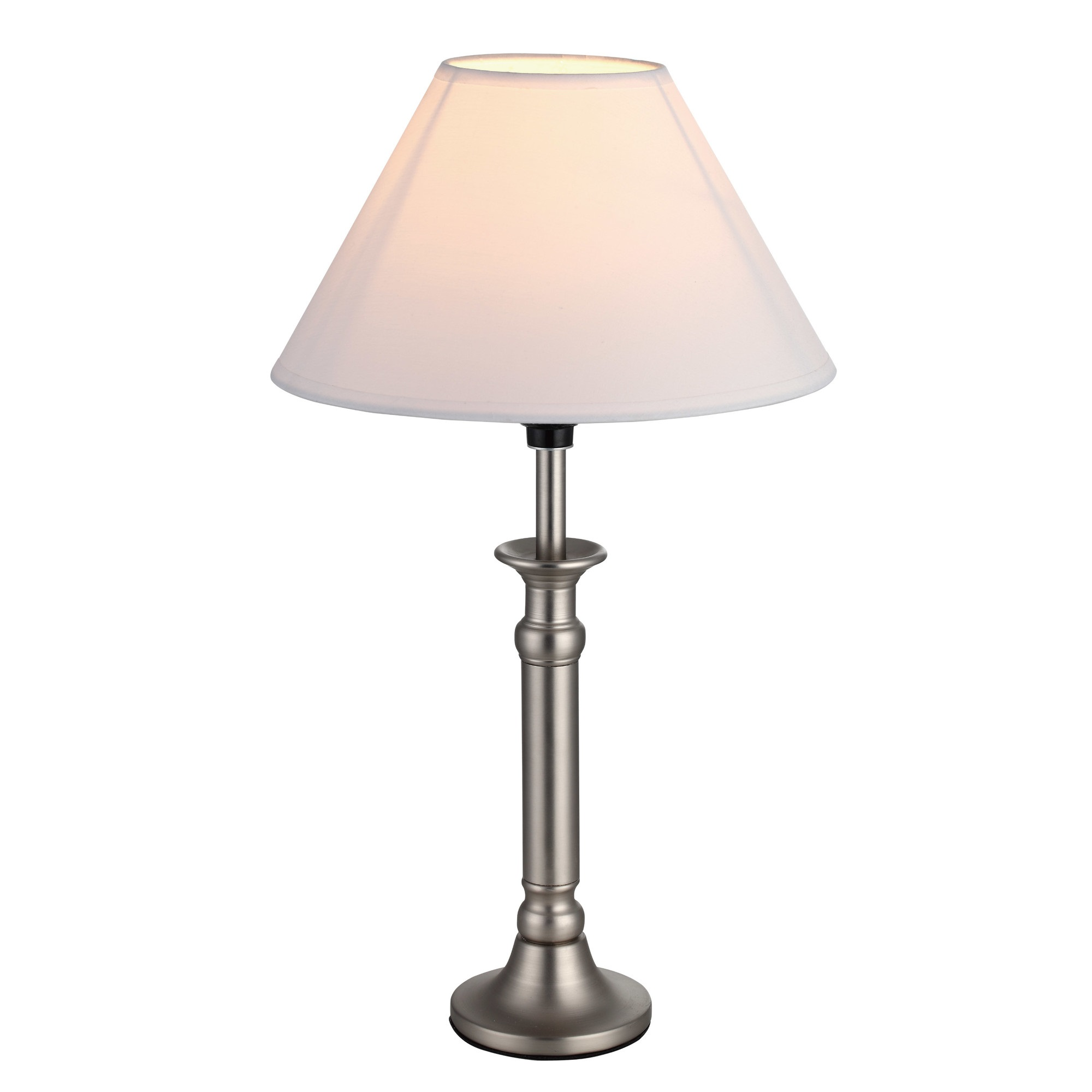 Andover mills table lamp with shade kvn225ddp l brilliant source lighting - Chandelier desk lamp ...