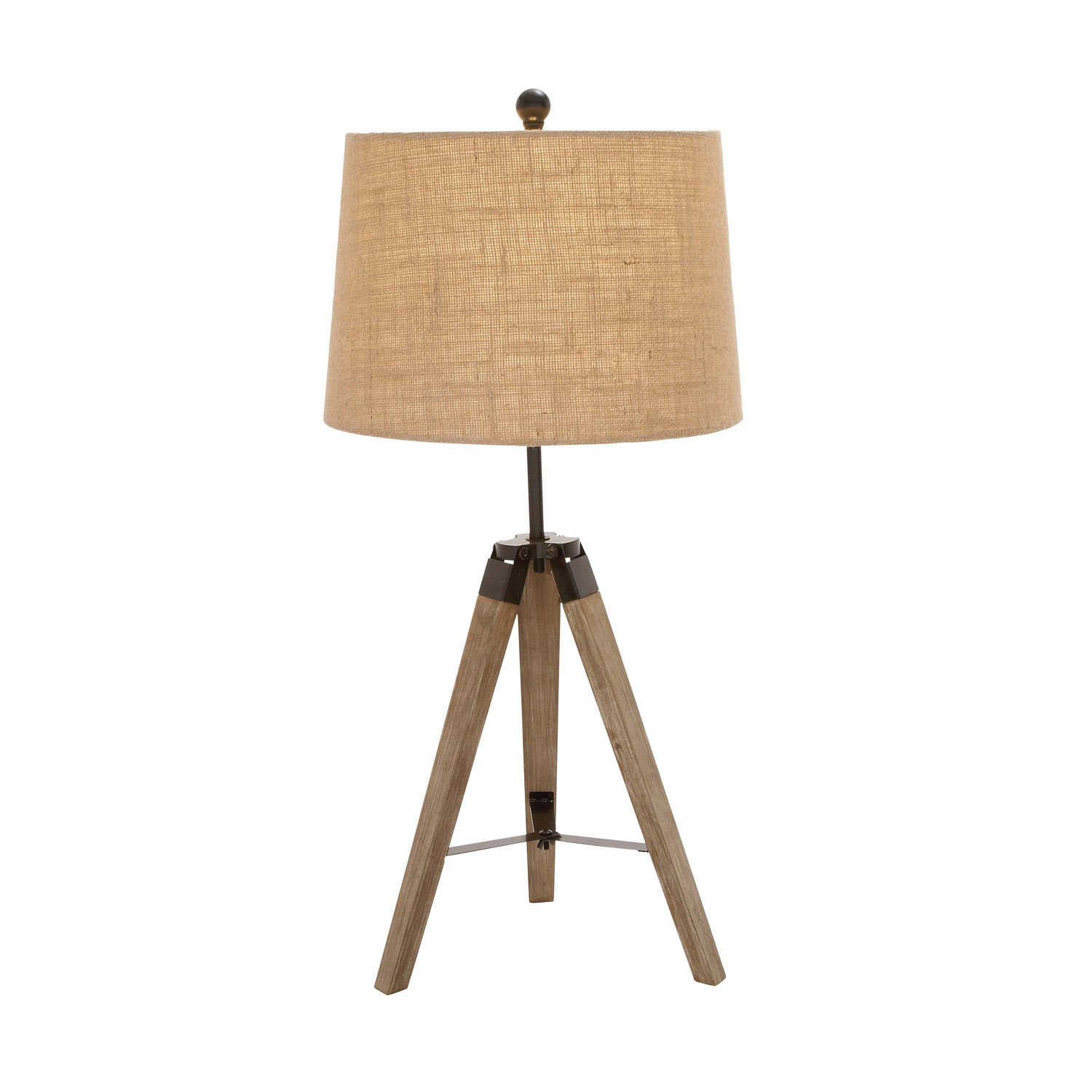woodland imports independent tripod table lamp l brilliant source lighting. Black Bedroom Furniture Sets. Home Design Ideas
