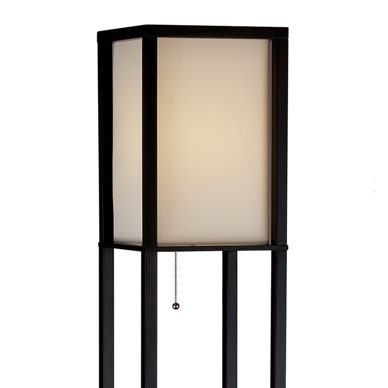 Floor Lamp Adesso Wright Tall Floor Lamp Brilliant