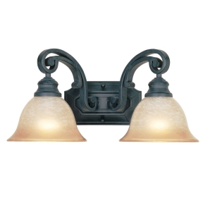 Designers Fountain Barcelona Vanity Light in Natural Iron