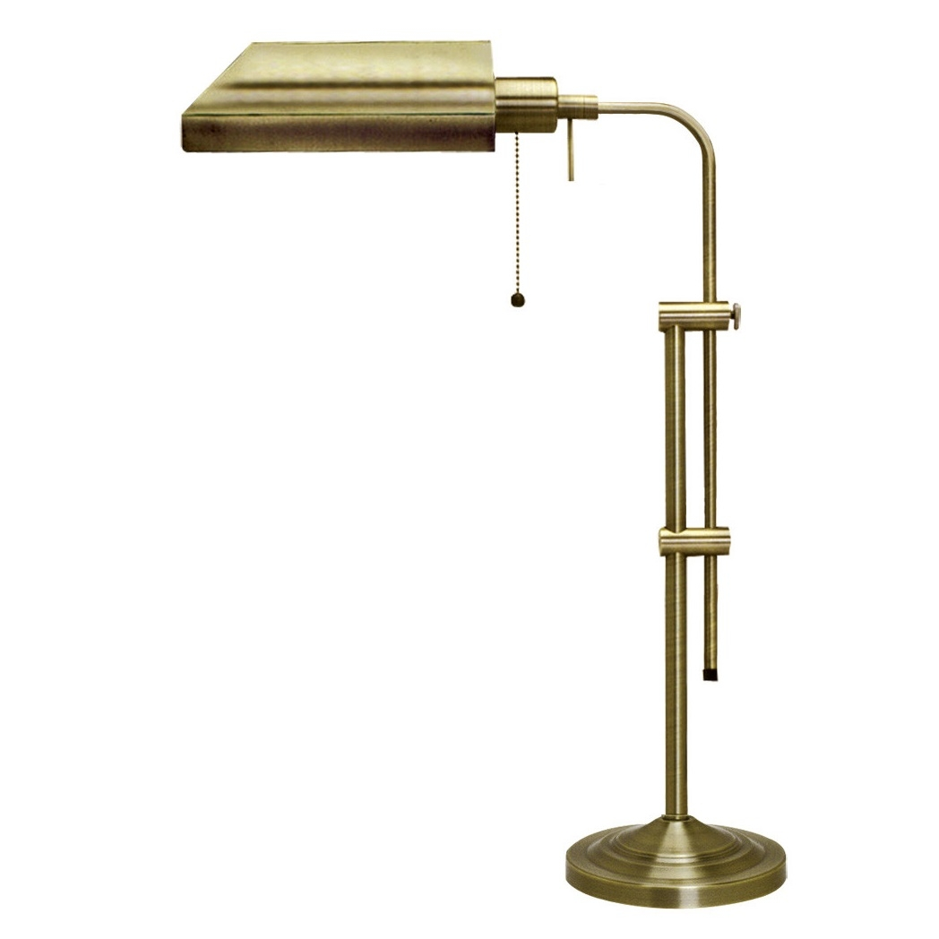 cal lighting pharmacy table lamp in antique bronze l brilliant source. Black Bedroom Furniture Sets. Home Design Ideas