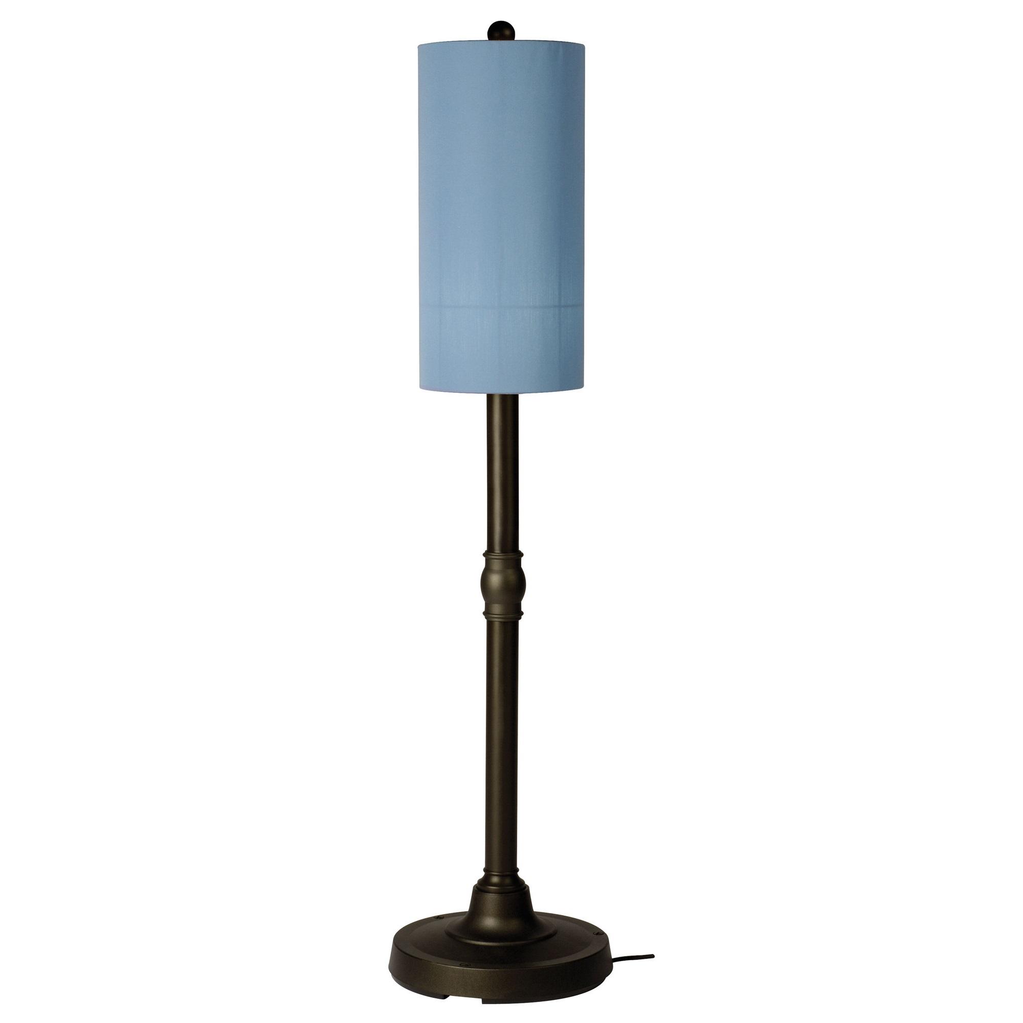 Patio living concepts coronado outdoor floor lamp in sky for Outdoor lighting concepts