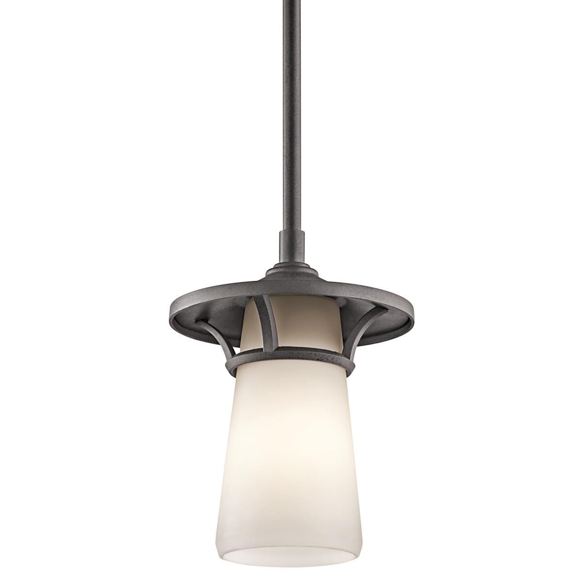 Kichler Lura 1 Light Outdoor Pendant L Brilliant Source Lighting