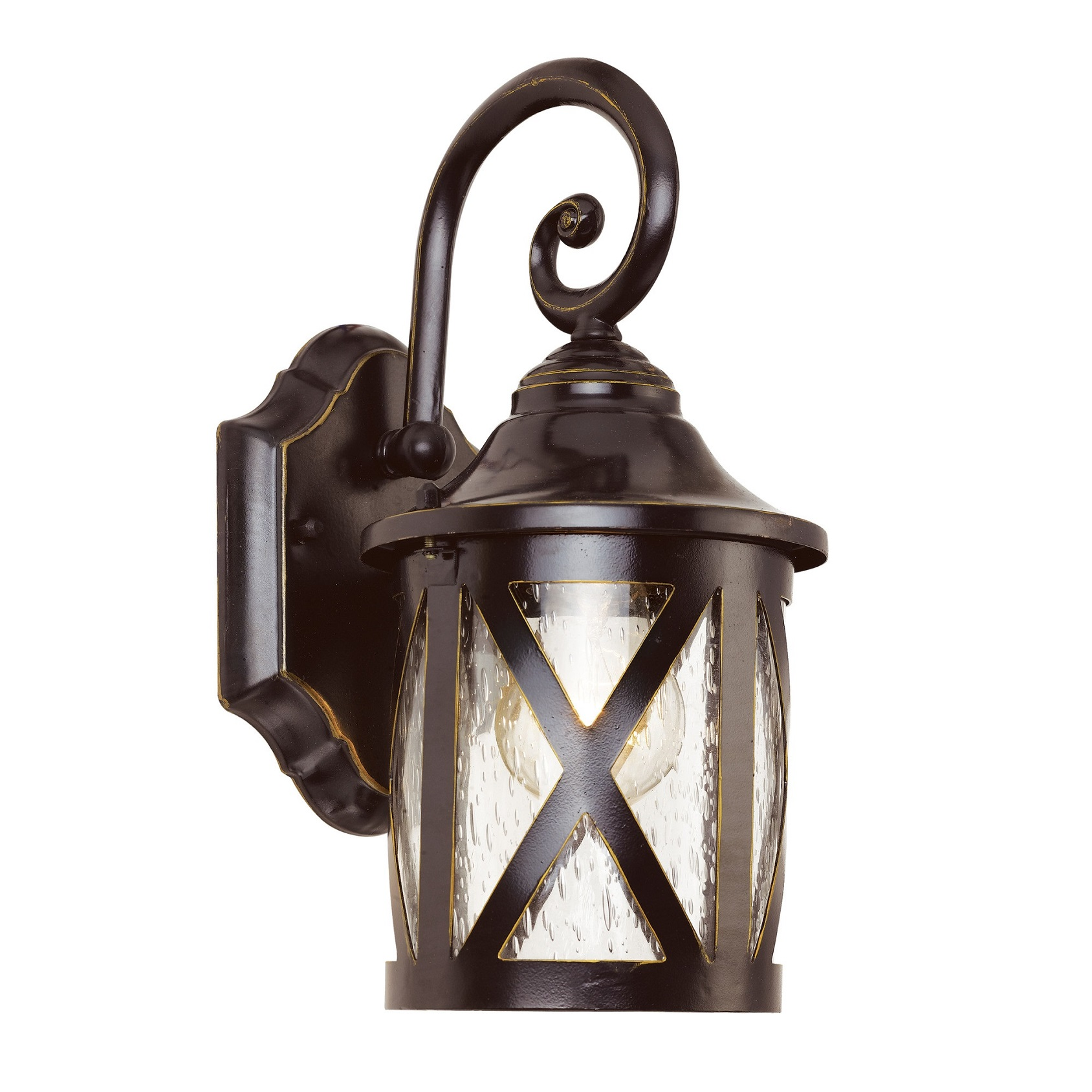Transglobe Lighting New England 1 Light Outdoor Wall