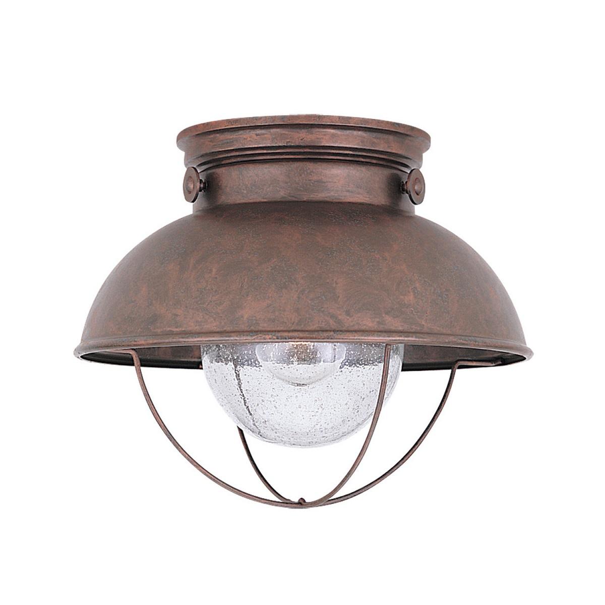 Sea Gull Lighting Sebring 1 Light Outdoor Ceiling Lantern