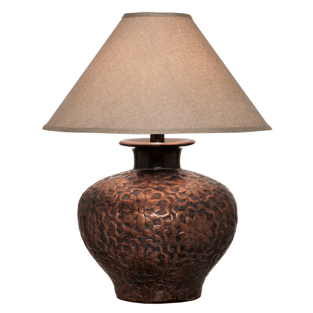 Anthony California H6621c Table Lamp In Copper L Brilliant
