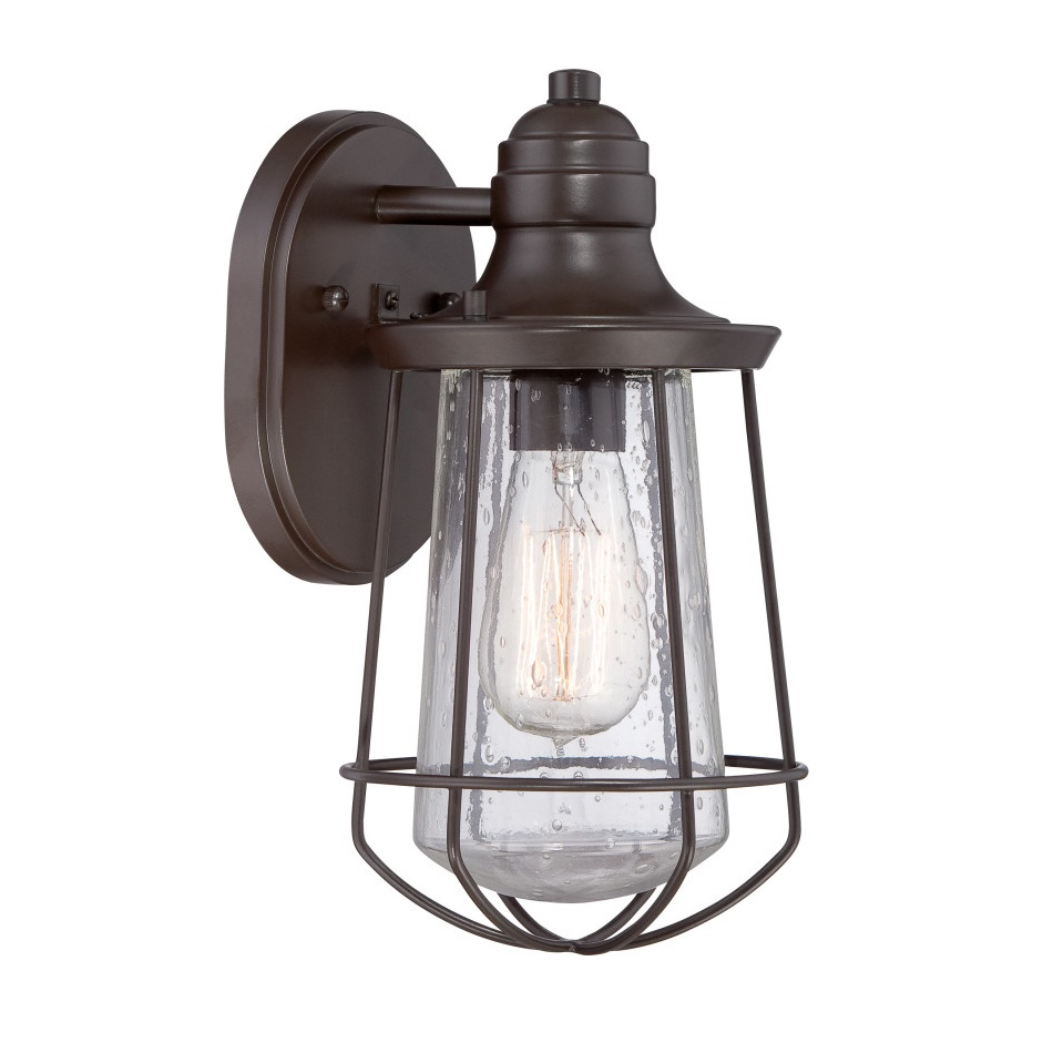 Quoizel Marine 1 Light Outdoor Wall Fixture L Brilliant