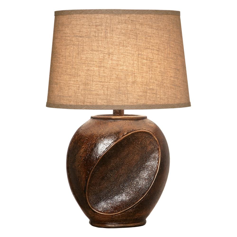 Anthony California Dark Walnut Table Lamp L Brilliant