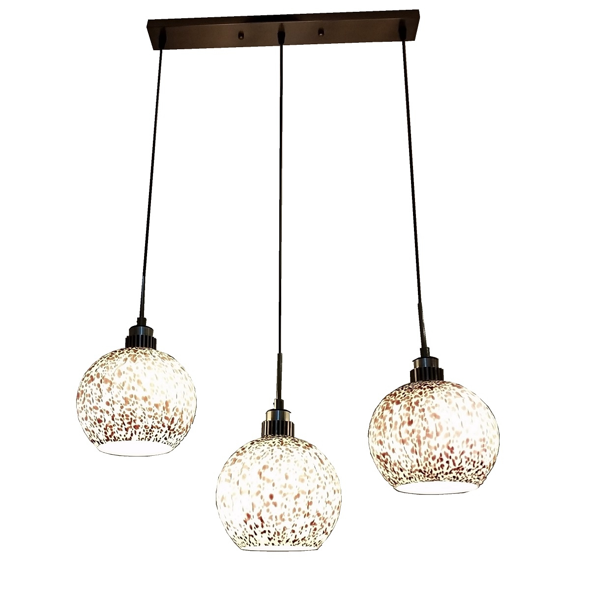 PL2036 3 Hanging Pendant Lamp L Brilliant Source Lighting