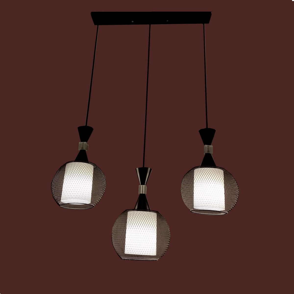 Pl6082 3 Hanging Pendant Lamp L