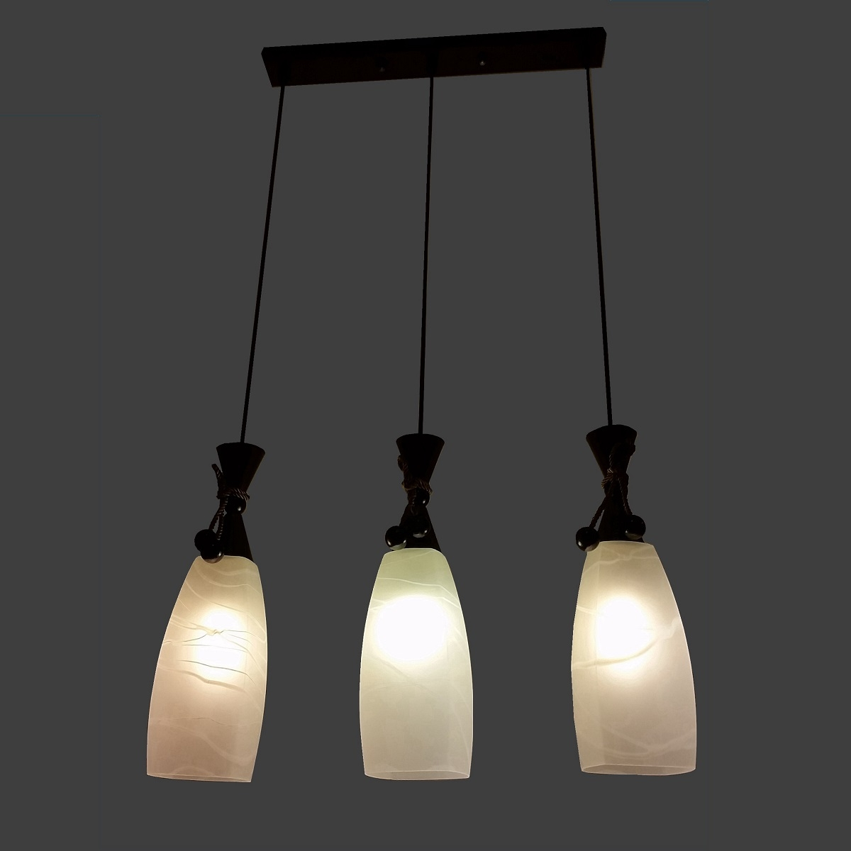 PL6188 3 Hanging Pendant Lamp L Brilliant Source Lighting
