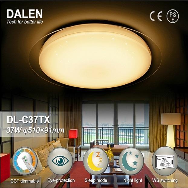 Dalen Dl C37tx Intelligent Eco Led Ceiling Light L