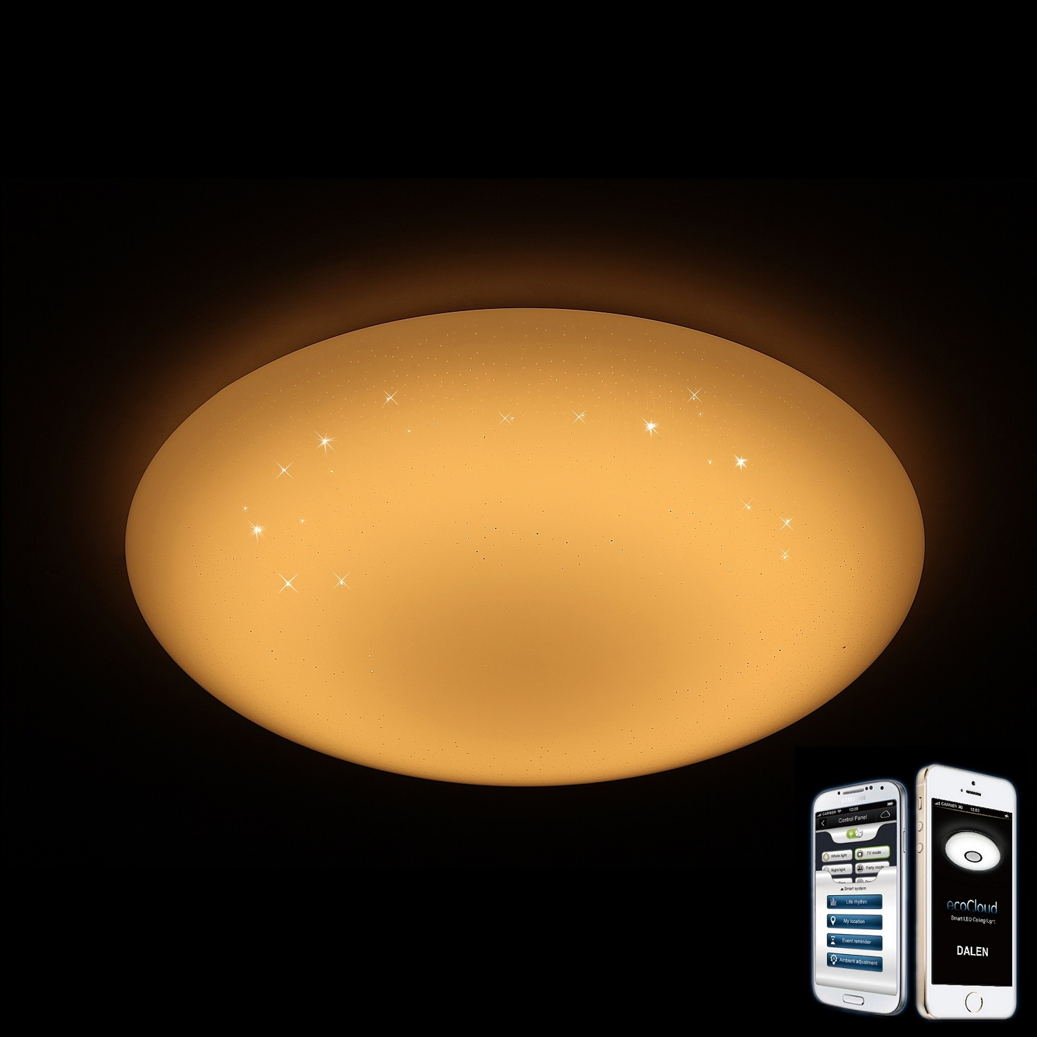 Dalen Dl C405txw Intelligent Eco Led Ceiling Light