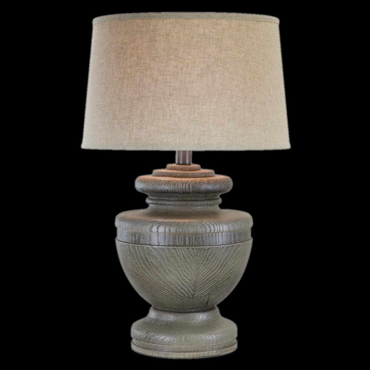 Anthony California Table Lamp With Empire Shade In Slate L