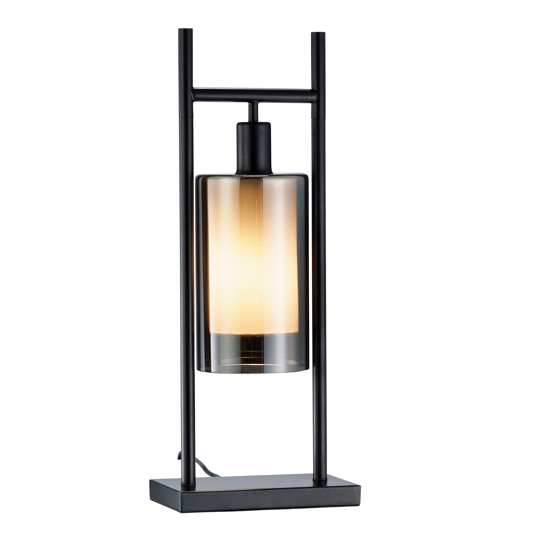 Adesso Revere Table Lamp With Glass Shade L Brilliant Source Lighting