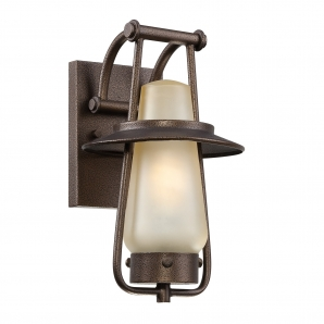 Designers Fountain 1 Light Outdoor Wall Lighting