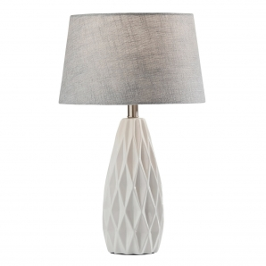 Adesso Joan White Table Lamps (set Of 2)