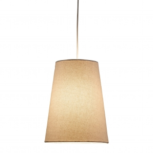 Adesso Harvest 1 Light Pendant In Natural