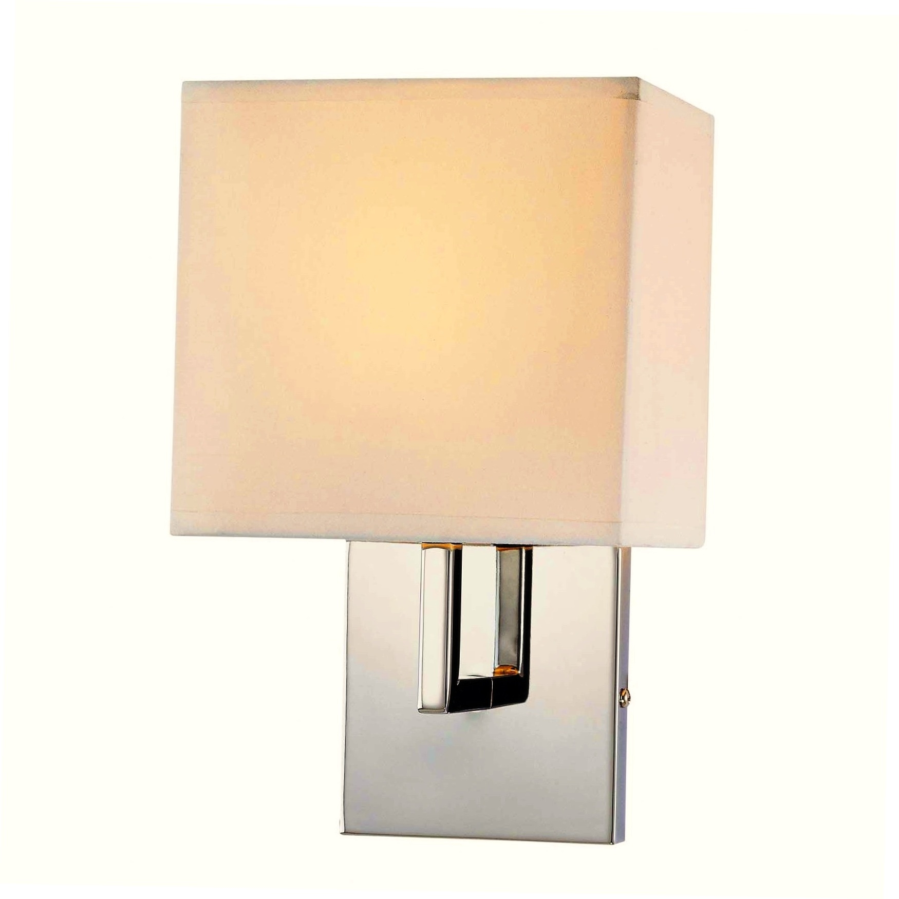 George Kovacs 1 Light Wall Sconce In Chrome L Brilliant