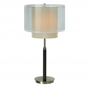 trend lighting corp roosevelt 1 light table lamp l brilliant source