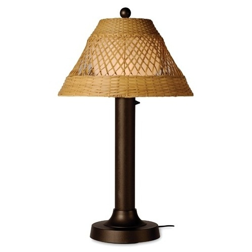 Patio Living Concepts : Patio Living Concepts Java Outdoor Table Lamp l Brilliant ...