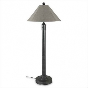 Patio Living Concepts Catalina Outdoor Floor Lamp with Sunbrella Shade