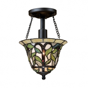 Landmark Lighting Latham 1 Light Semi Flush Mount Pendant