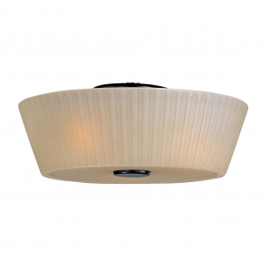Maxim Lighting Finesse 3 Light Semi Flush Mount In Oil Rubbed Bronze