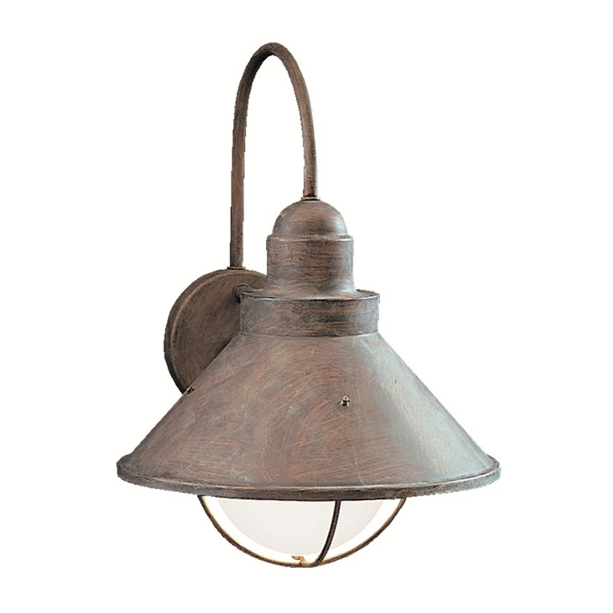 Kichler Lighting 9023OB Seaside 1 Light Outdoor Wall