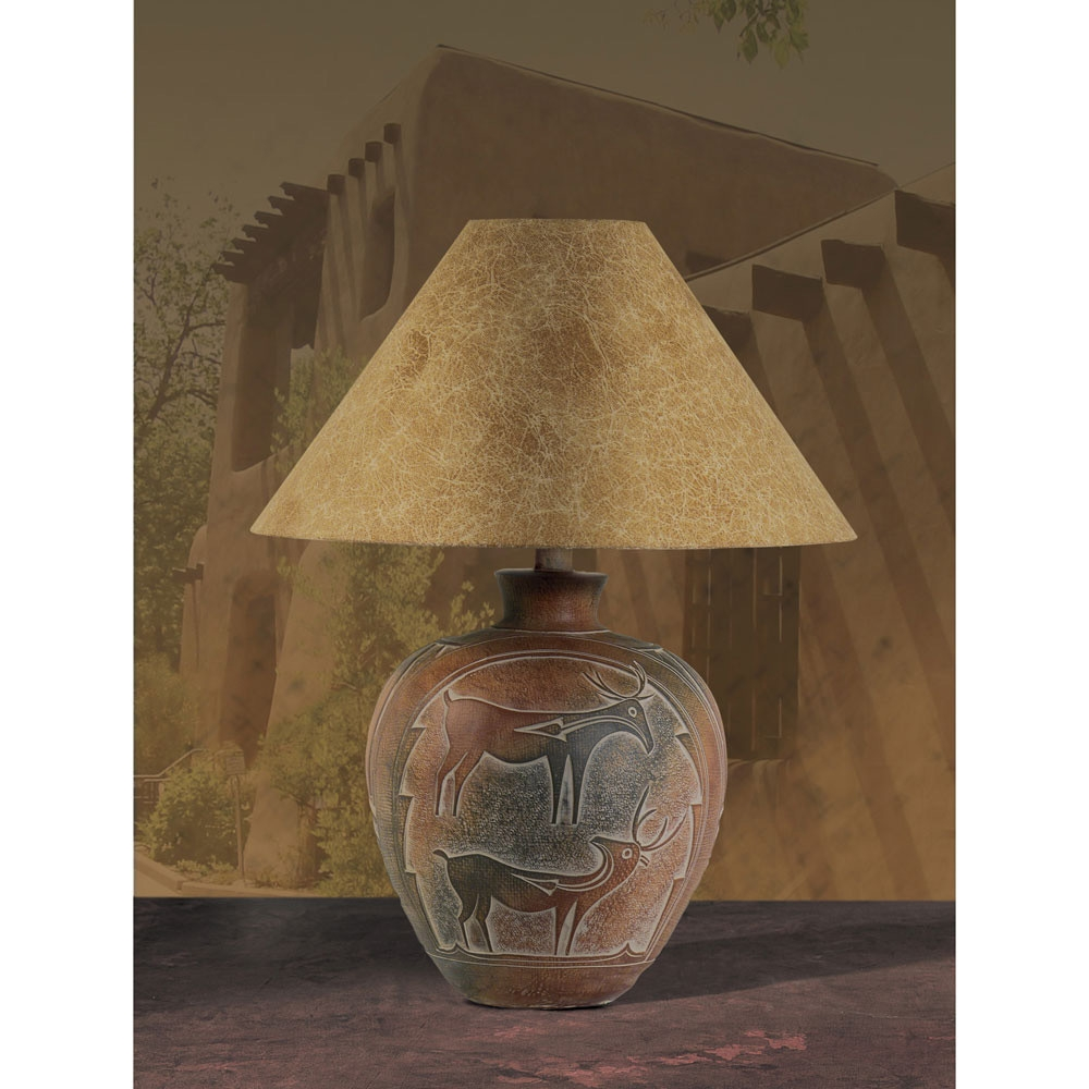 Anthony california table lamp in indian deer l brilliant source anthony california h6185123 table lamp geotapseo Gallery