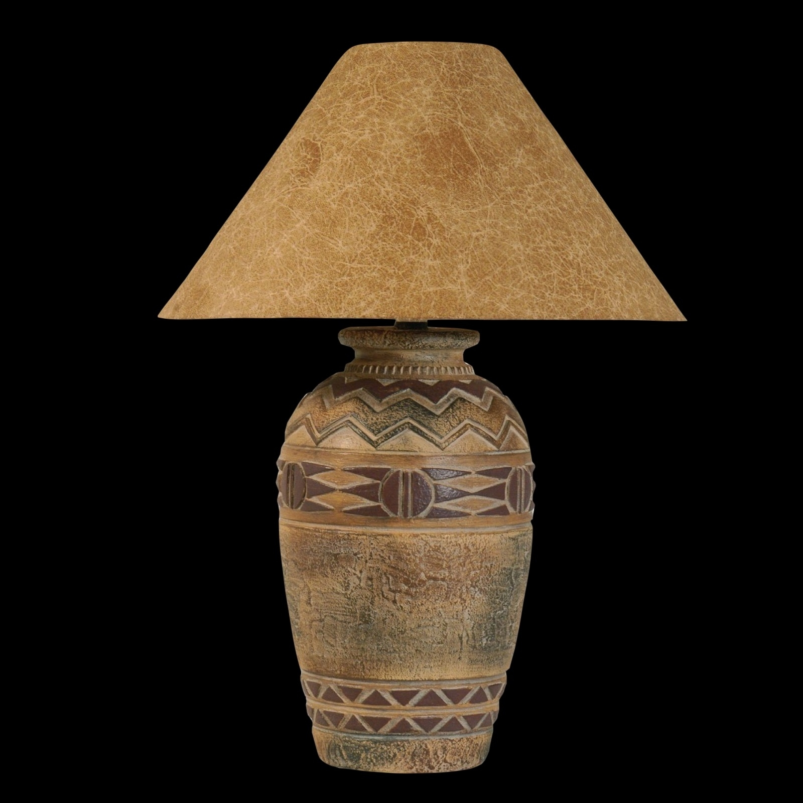 Anthony California Table Lamp In Southwest Finish L