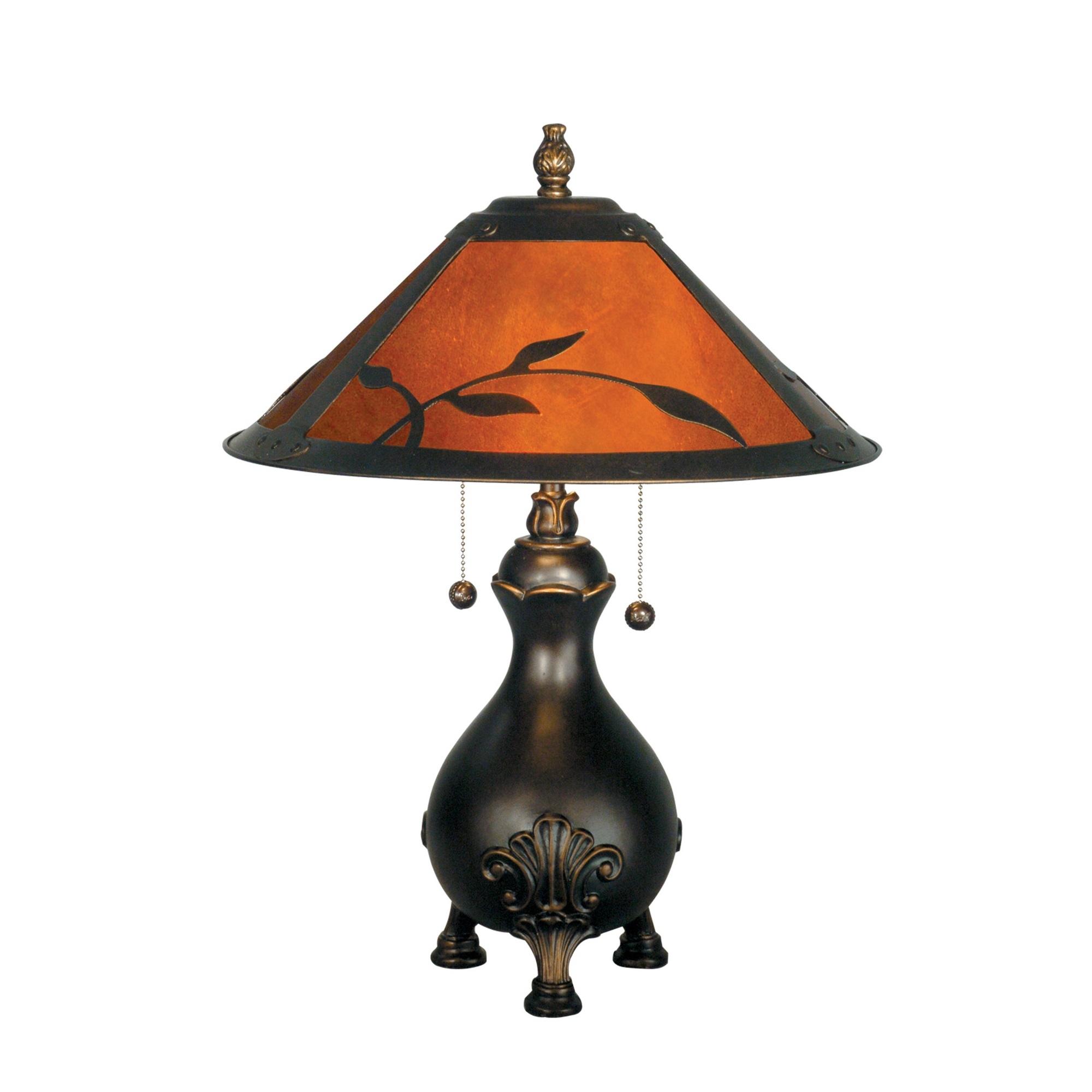 Dale Tiffany Mica 2 Light Table Lamp L Brilliant Source