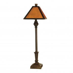Dale Tiffany Buffet Mica 1 Light Table Lamp