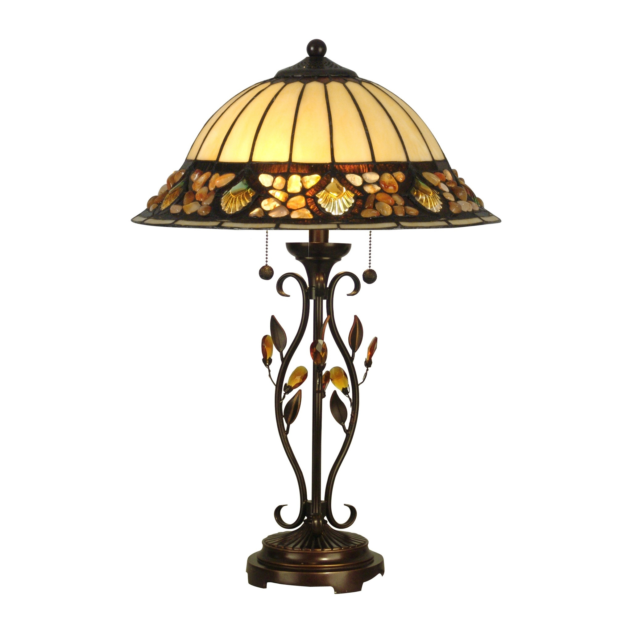 Dale Tiffany Pebblestone Table Lamp L