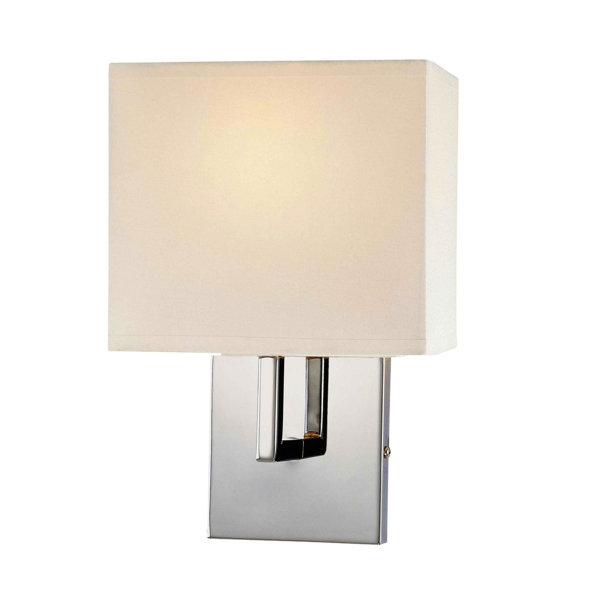 george kovacs 1 light wall sconce in chrome l brilliant. Black Bedroom Furniture Sets. Home Design Ideas