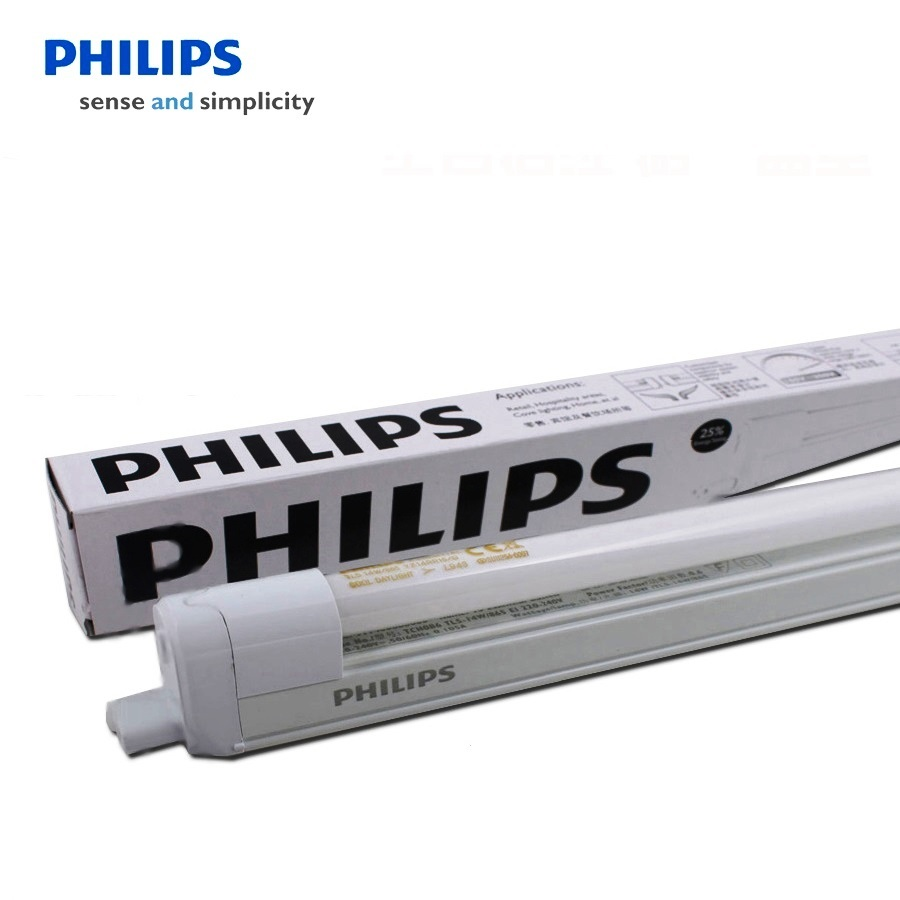 Philips T5 4 Essential Linear Fluorescent Batten Warm