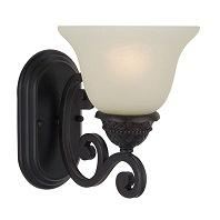 Maxim Lighting 11230SVOI Symphony 1 Light Wall Sconce