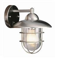 TransGlobe Lighting 4370 ST Outdoor 1 Light Wall Lantern