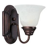 Maxim Lighting 8011MROI Essentials 1 Light Wall Sconce