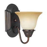 Maxim Lighting 8011WSOI Essentials 1 Light Wall Sconce