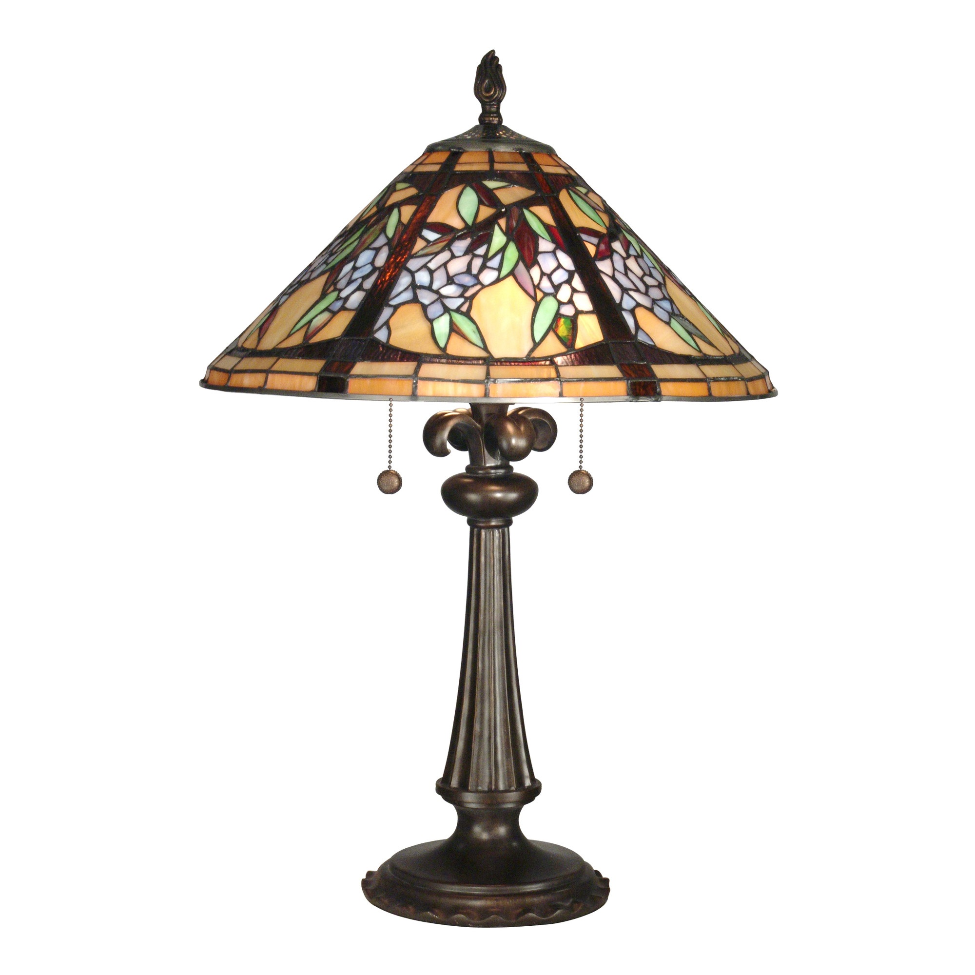 Branch Tiffany 2 Light Table Lamp